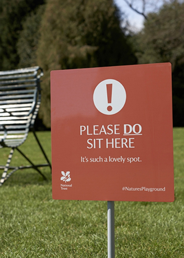 Playful Instructional Signs Invite Visitors To Explore Historical Sites [Pics]