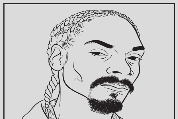 Rappers Chain Pages Coloring