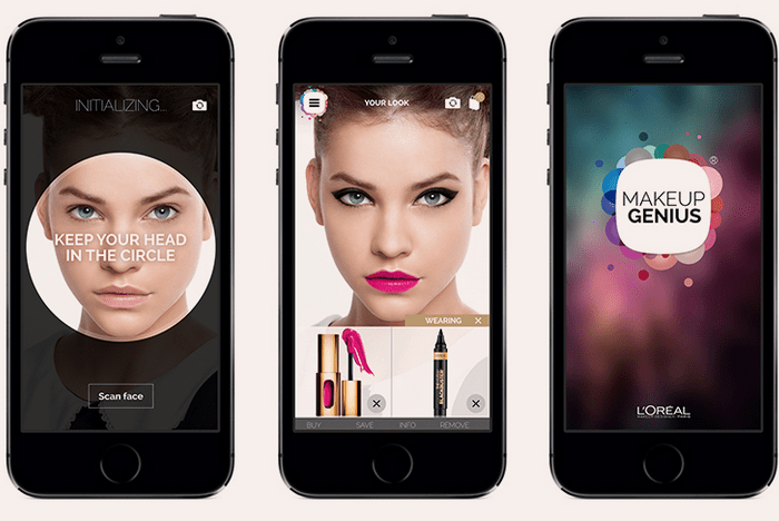 L'Oreal Digital Shift for Real-Time Beauty Application