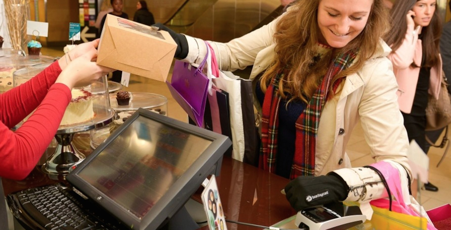 How A Contactless Glove Lets Shoppers Wave And Pay