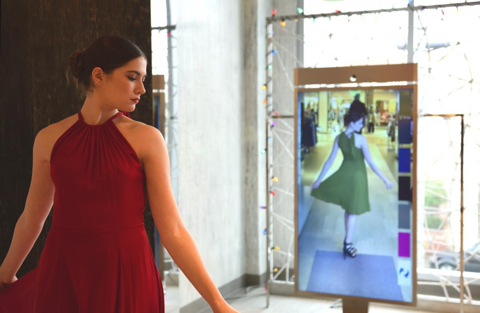 Neiman Marcus Upends Online Shopping with Digital Mirror