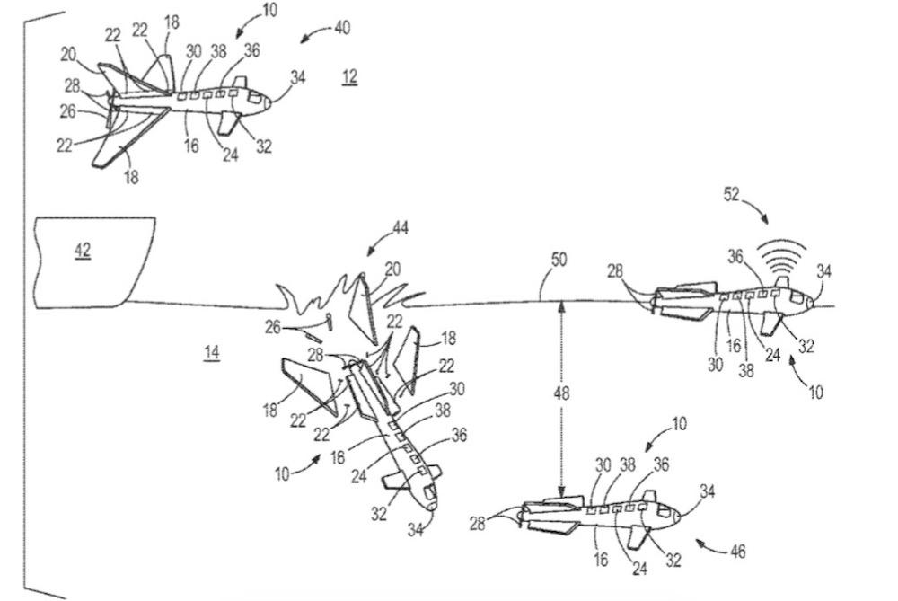 Boeing Patents Submarine Drone