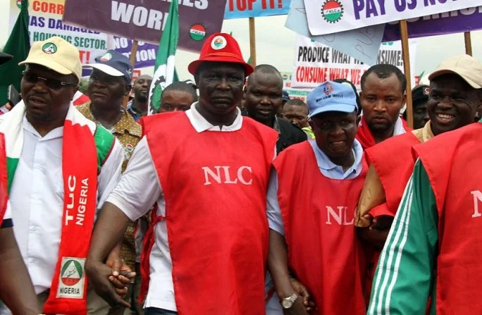 Image result for : Court stops NLC, TUC's planned strike
