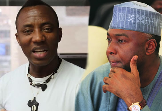 Image result for Saraki will be jailed - Omoyele Sowore