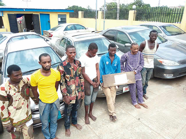 Image result for car stolen in lagos26 cars stolen in Lagos, recovered in Ondo – Police