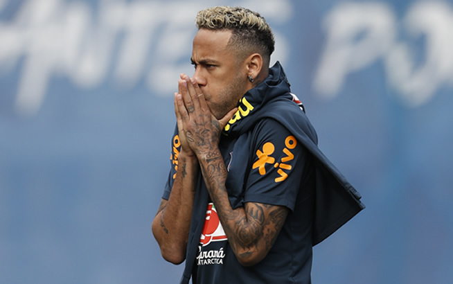 Brazil Vs Costa Rica Neymar Fit For Match After Injury