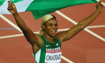 Sport: Guinness Book of World Records recognises Blessing Okagbare