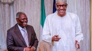 We must appreciate God for bringing us together, Buhari tells Kumuyi
