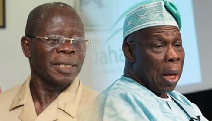 Image result for eo:''Obasanjo adams oshiomole