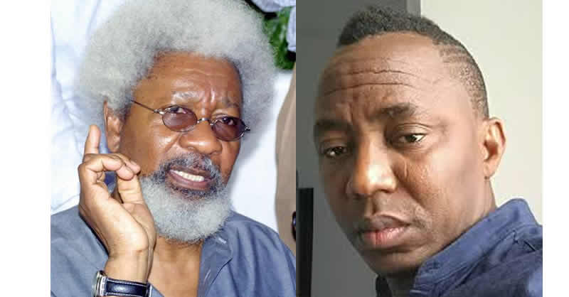 Image result for Prof. Soyinka has refused to endorse me – Sowore