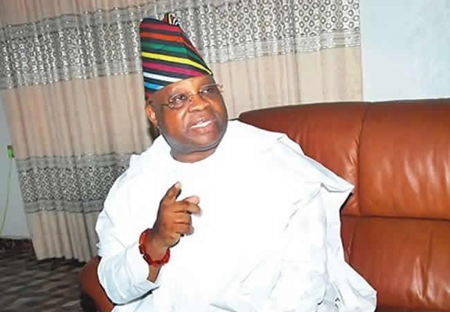 Image result for adeleke oyetola  OSUN BATTLE! GREAT PANIC HITS ADELEKE AND OYETOLA'S CAMPS AS SUPREME COURT IS TO GIVE FINAL JUDGMENT ON WHO BECOMES THE AUTHENTIC GOVERNOR Senator Ademola Adeleke