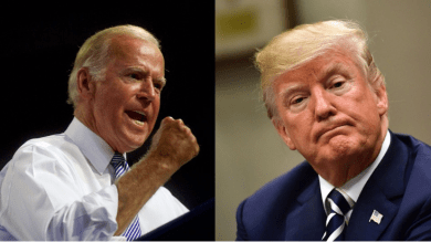 It's not Trump's place to declare winner, says Biden