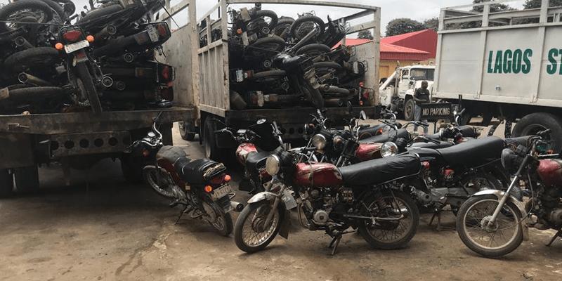 Gunshots as Okada riders resist arrest in Lekki