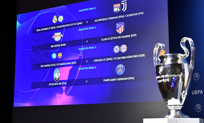 UEFA Champions League quarter-finals draw - Punch Newspapers