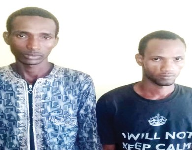 Two Fulani herdsmen arrested for gang-raping a 16-year-old girl in Ogun