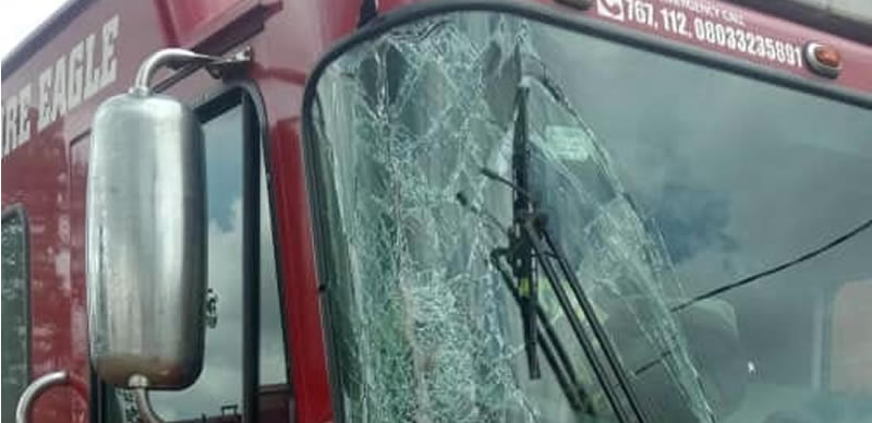 How #Endsars Protesters destroyed Lagos fire truck – Official