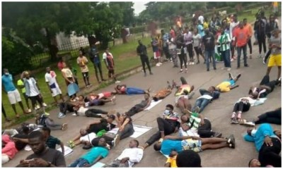 Breaking: 13-year-old boy falls off moving truck, dies in Delta #EndSARS protest