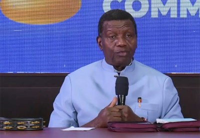 Pastor Adeboye makes first appearance after son's death