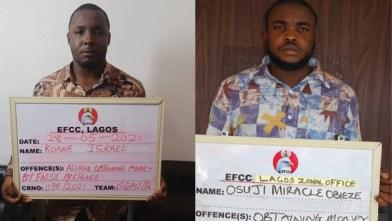 suspected fraudsters