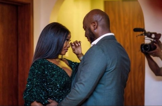 Ini Dima-Okojie announces engagement to fan who sent her chocolates from London