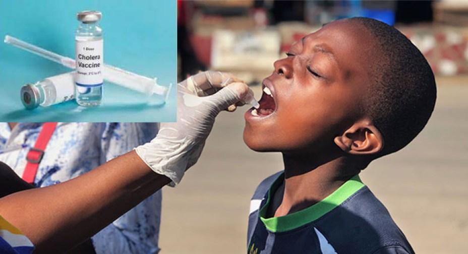 Cholera vaccine