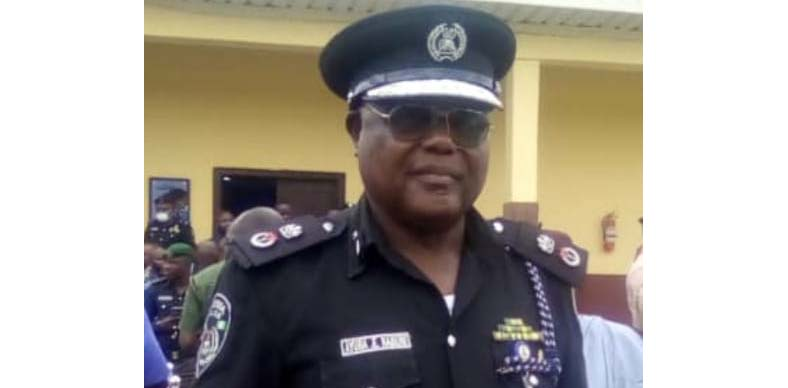 Zamfara State Commissioner of Police Ayuba Elkanah
