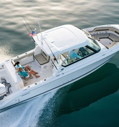 the dc 325 dual console combines central utility a starboard side helm center and tremendous seating functionality into an elegantly styled boat  [ 1366 x 1024 Pixel ]