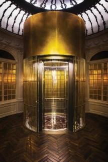 Hotel Glass Elevator