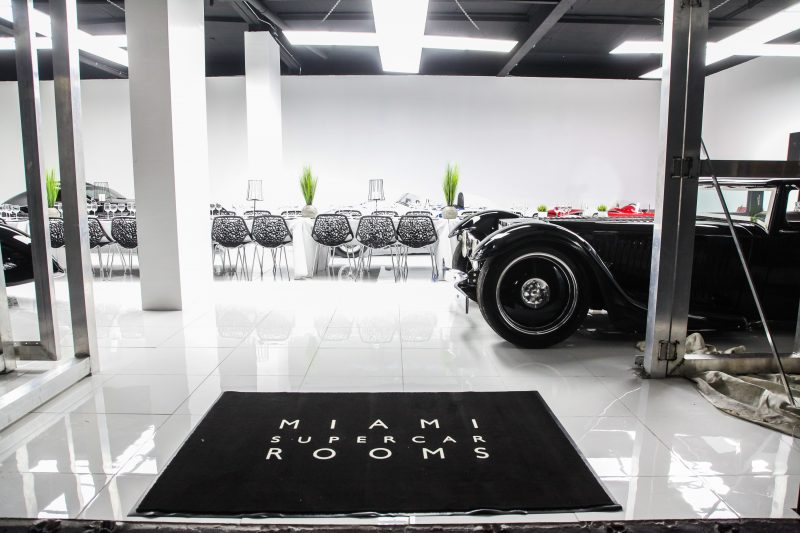 Cars And Cuisine Miami Supercar Rooms