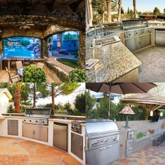 Hotels With Kitchens In Las Vegas Kitchen Aid Bbq Outdoor For Luxury Living Warm Climates ...