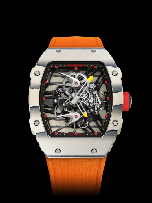 Richard Mille Unveils Rafael Nadal Watch For French Open ...