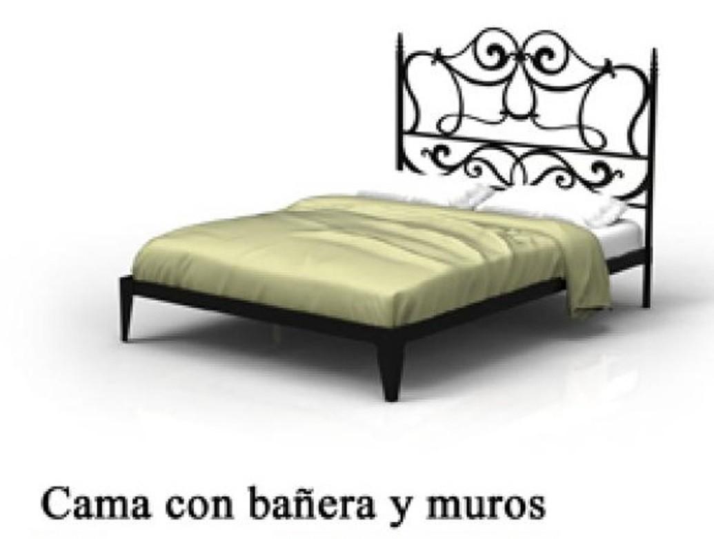 cama sofa forja best sleeper sofas for comfort dormitorio con bañera y muro 1215 agata