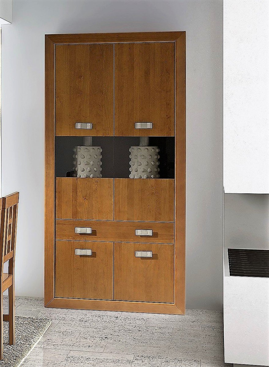 Mueble comedor colonial madera lacado 79NV517  Mobles Sedav