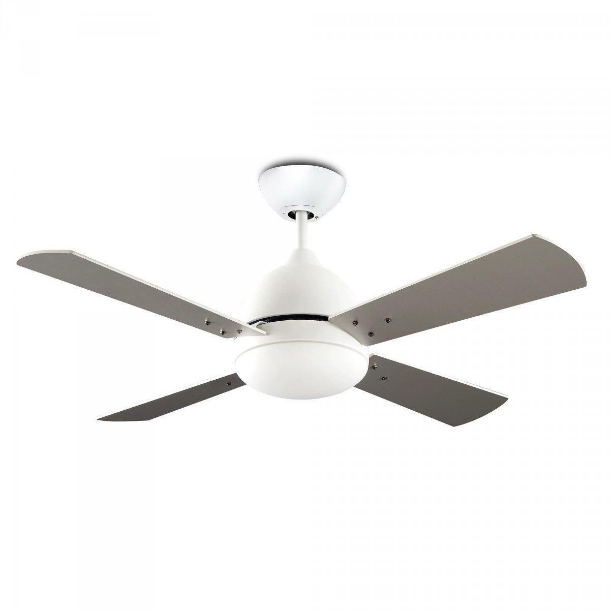 LEDSC4 BORNEO Ventilador de techo con luz blanco