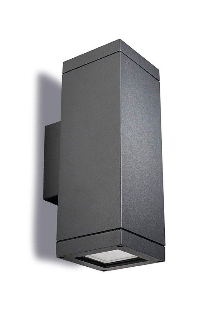 LEDSC4 AFRODITA E27 Aplique de pared blanco gris o gris