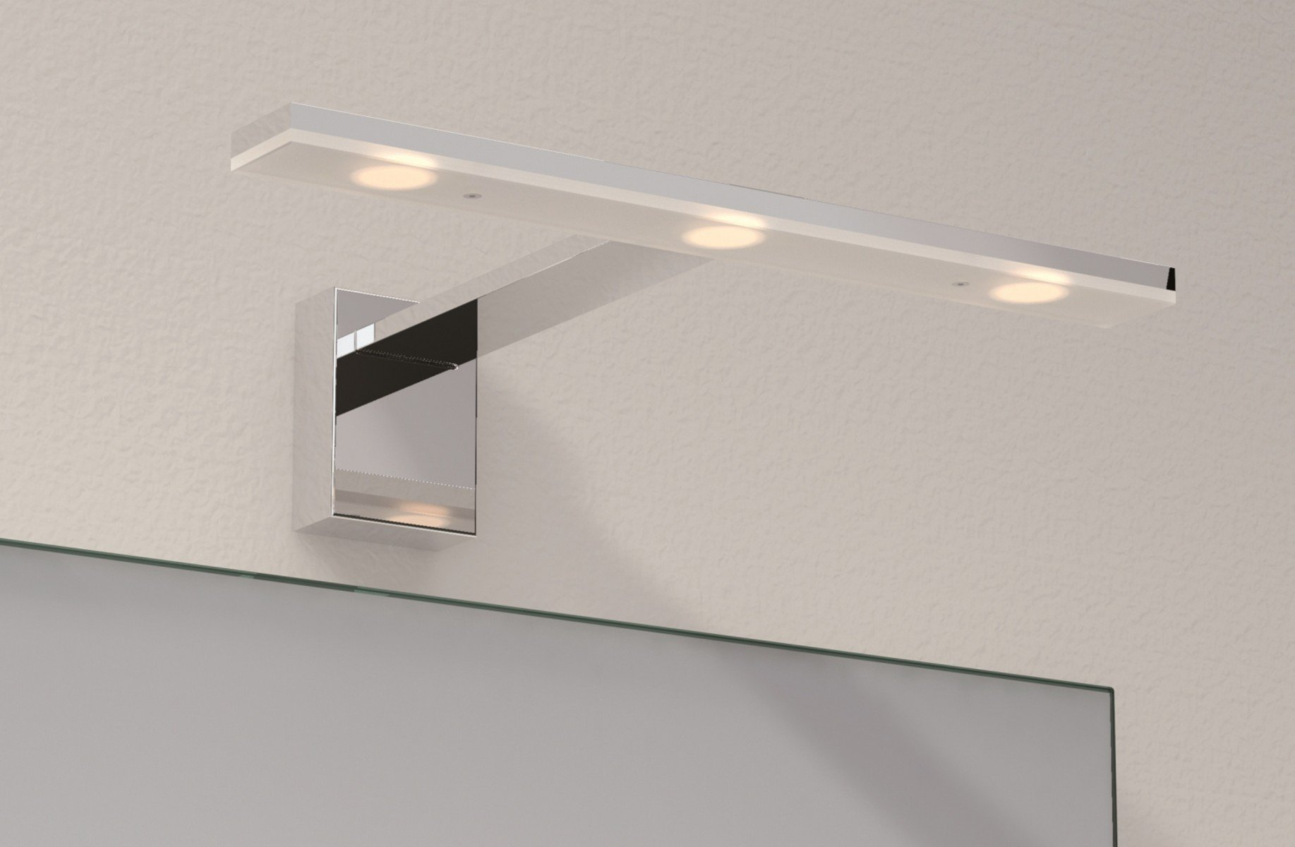 Apliques Baño Led Exo Lighting Tiel Aplique De Pared Baño Cromo Led 3x3w