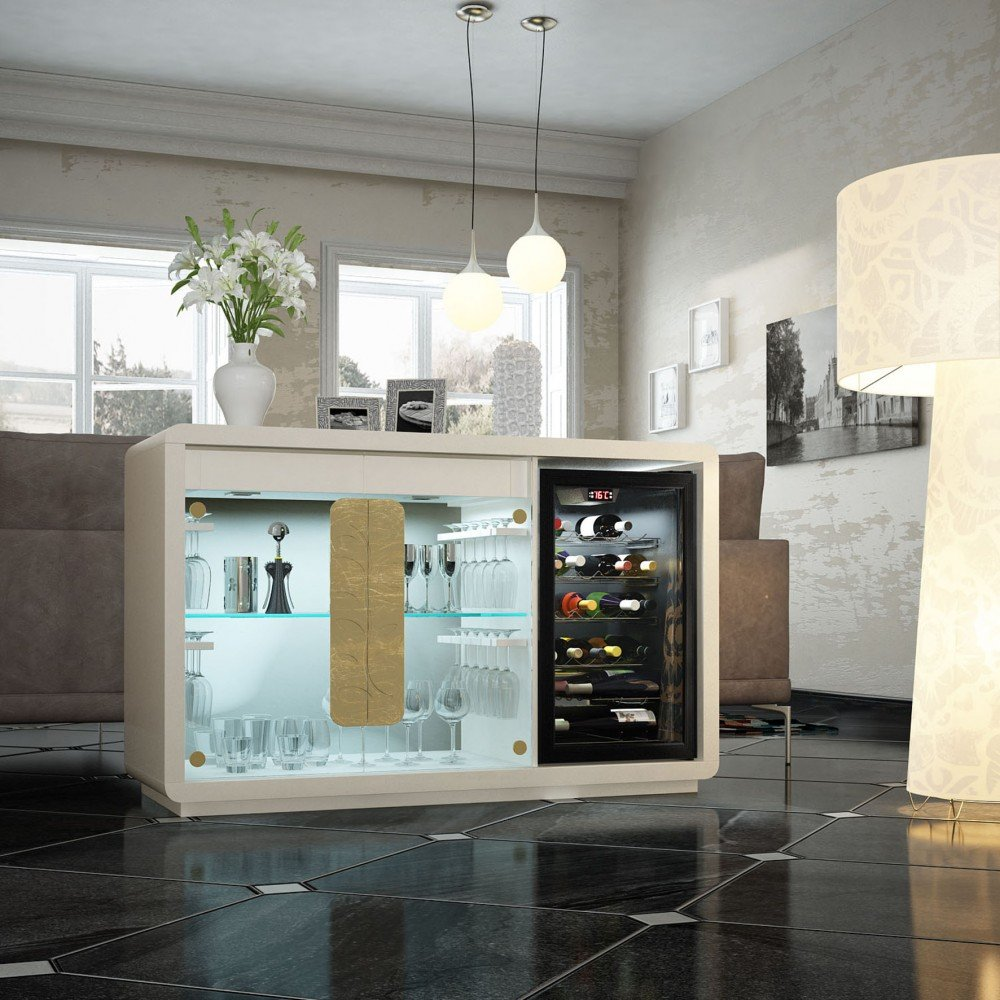 MUEBLE VINOTECA  Mueble Auxiliar  muebles y decoracion