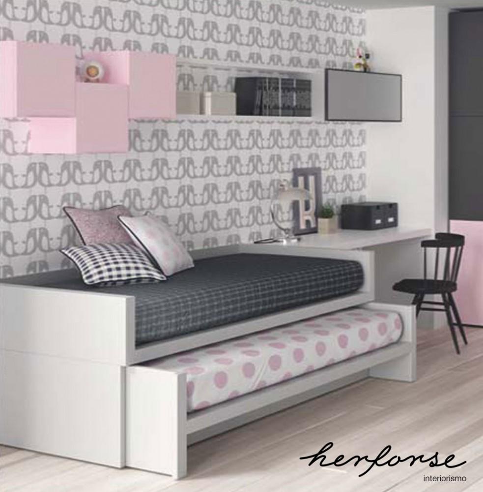compactos dobles camas  Juveniles  HERFORSEinteriorismo
