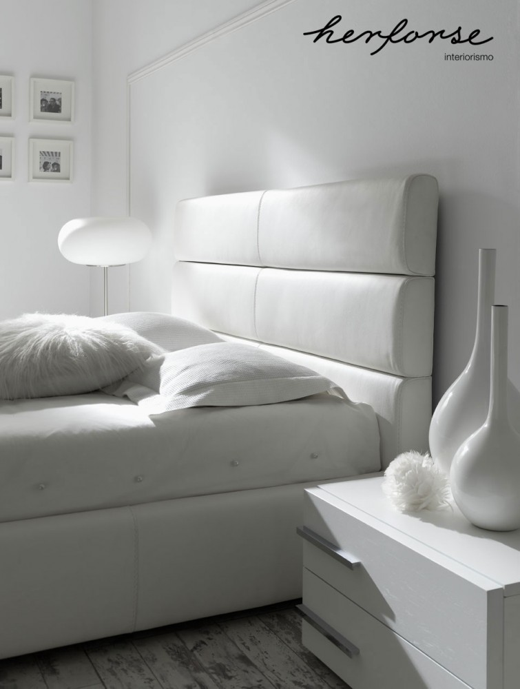 cabezales tapizados  Dormitorios  HERFORSEinteriorismo