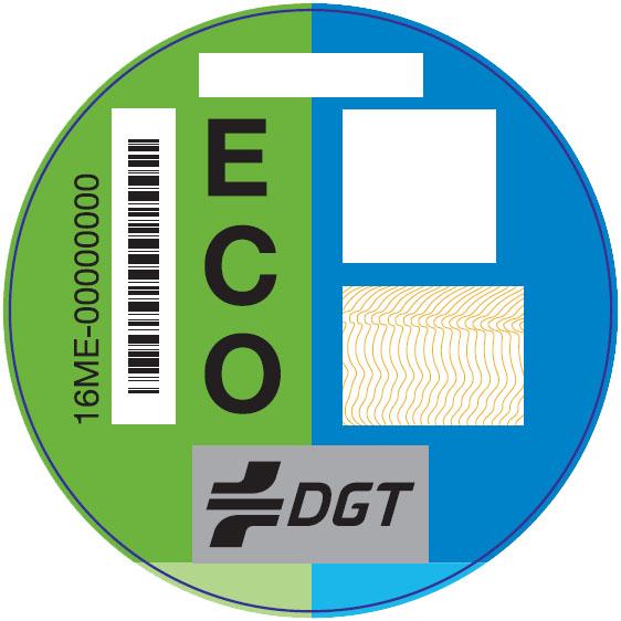 DGT clasifica los vehículos por emisiones