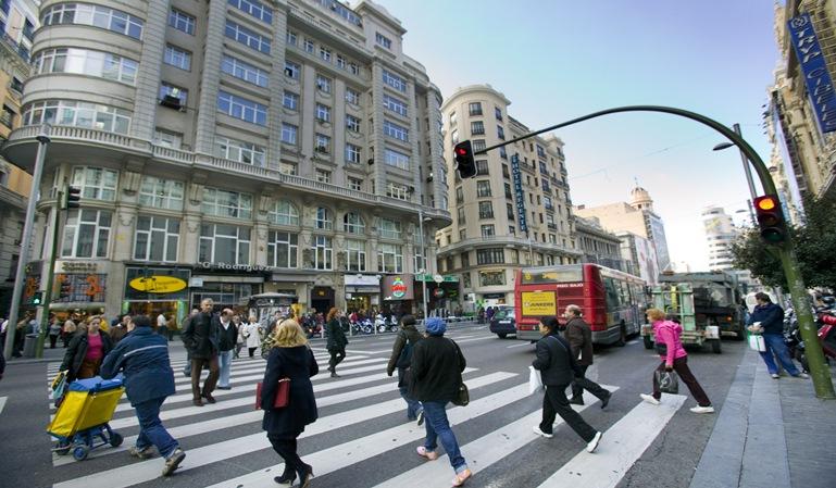 Las multas a los peatones