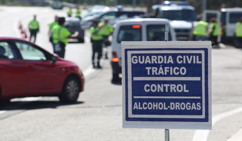 Controles de alcohol y drogas el fin de semana