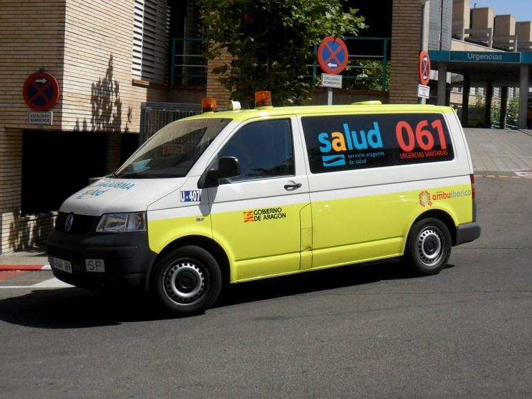 Multa a una ambulancia mientras atendía una urgencia