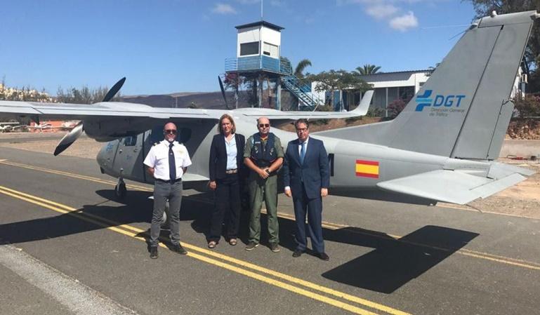 La DGT utilizará avionetas y drones