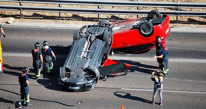 Accidentes en carretera en 2018