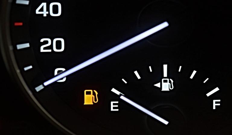 Cómo reaccionar cuando nos quedamos sin gasolina