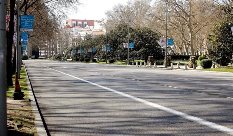 Madrid cierra al tráfico 29 calles desde el sábado