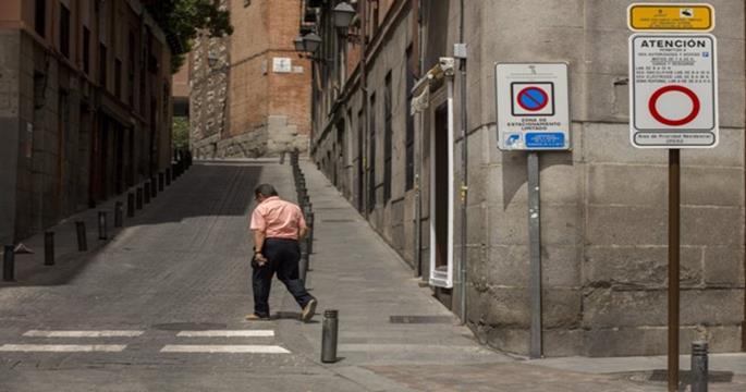El barrio de Ópera de Madrid multará al tráfico sin excepción a partir de Octubre
