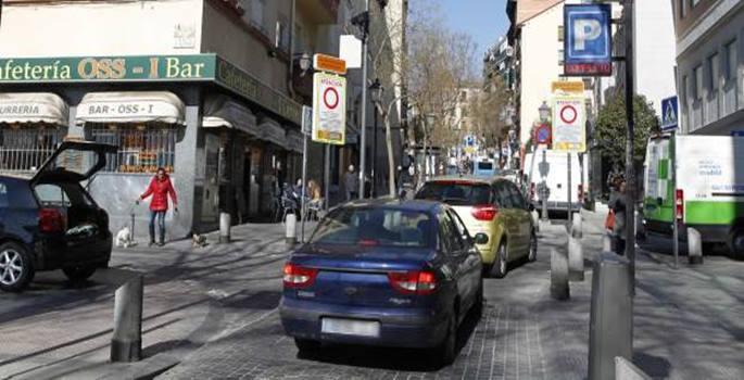 El centro de Madrid restringe accesos a los coches carsharing