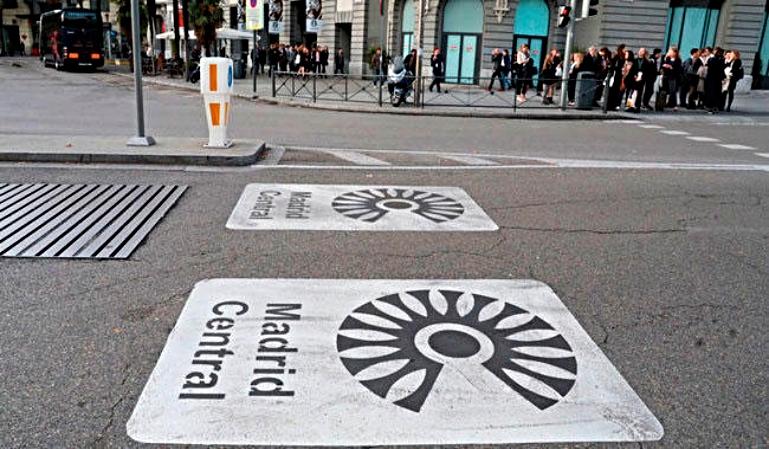 Se suspende la moratoria de sanciones. Vuelve Madrid Central